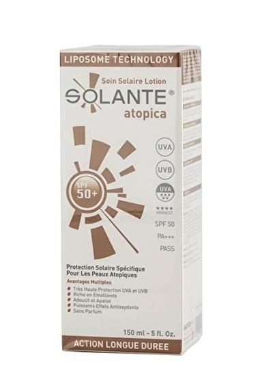 Solante SOLANTE Atopica SPF 50+ Losyon 150 ml Renksiz